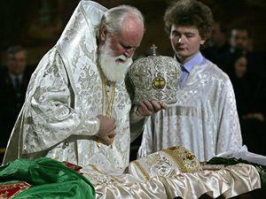 Pohřeb patriarcha Alexije II.